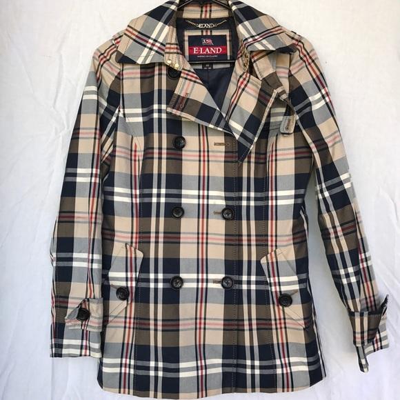 e0db05077e6 E Land Jackets   Blazers - E Land Eland American Classic Jacket Coat Peacoat