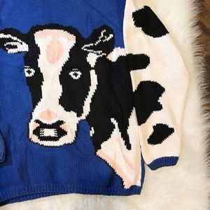 Sweaters - Udderly Adorable Cow Sweater