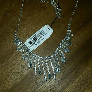 ROSA Crystal Chandelier choker necklace $65