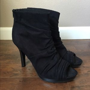 FIONI Clothing Shoes - Fioni Black High Heel Booties