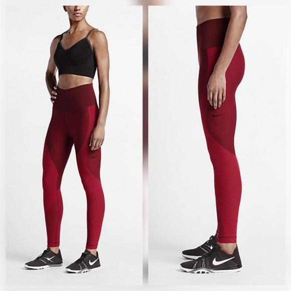 3ba7bb1450fd7 Nike Pants   Zoned Sculpt Power Tights   Poshmark