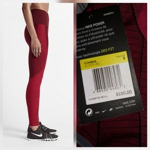 820dd74ff4acd Nike Pants - Nike Zoned Sculpt Power Tights Pants