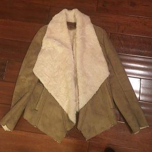 Hive & Honey Shearling Jacket