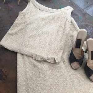 Vintage Dresses & Skirts - Gorgeous vintage ivory wool skirt set