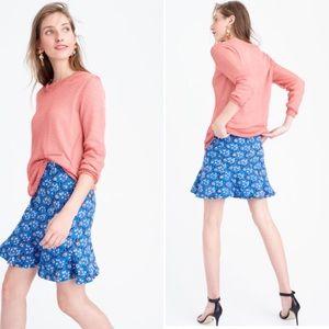 J. Crew Dresses & Skirts - J. Crew Flutter Mini Skirt in Vintage Scarf Print