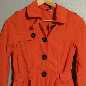 H&M Jackets & Coats - SUPER CUTE H&M TRENCH COAT SIZE 2