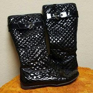 Primigi Shoes - Patent leather calf high boots