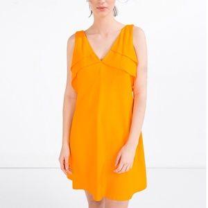 86a017b7 Zara Dresses - 🆕ZARA orange 🍊 dress. New with tag!