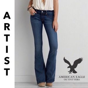 American Eagle Outfitters Denim - American Eagle Artist flare jeans