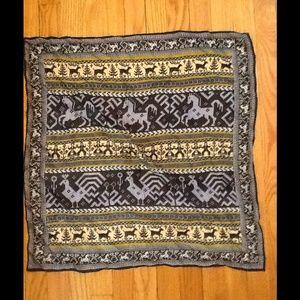 Animal silk scarf!