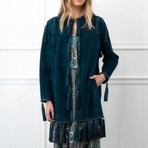 Rachel Zoe Jackets & Blazers - Rachel Zoe Holden jacket coat teal 4