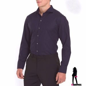 Zachary Prell Other - Zachary Prell Cotton Jacquard Print Shirt L, XL