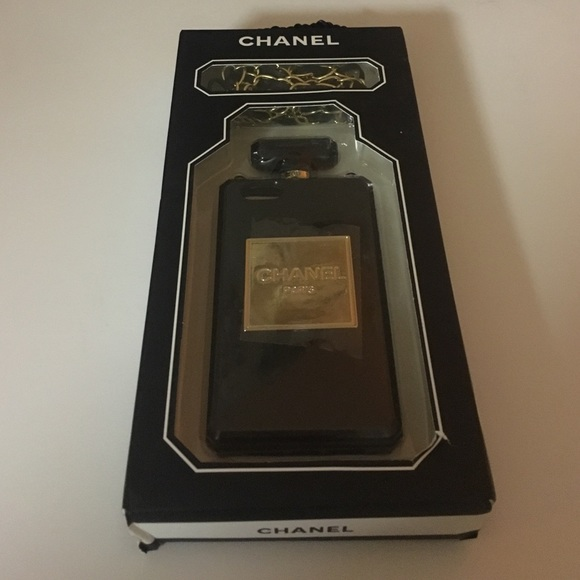 81% off Chanel Accessories - Chanel Perfume Iphone 5/5s ...