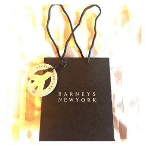 Barneys New York Handbags - Barney's New York small holiday shopping bag