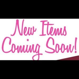 NEW Men's & Womens ITEMS WILL BE LISTED SOON!