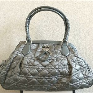 Christian Dior Quilted Frame Satchel