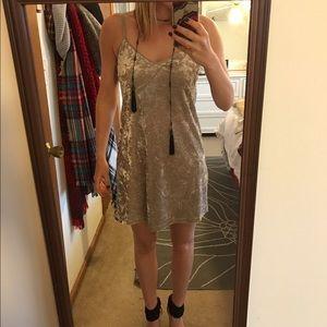 Zara velvet dress NWOT