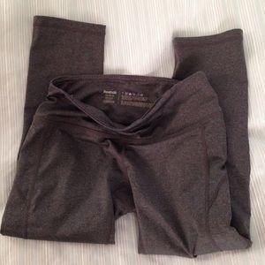 Reebok Pants - Gray reebok work out leggings size XS