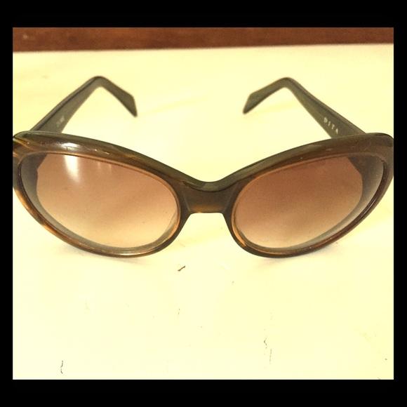 458acc91e35 Dita green tortoise sunglasses