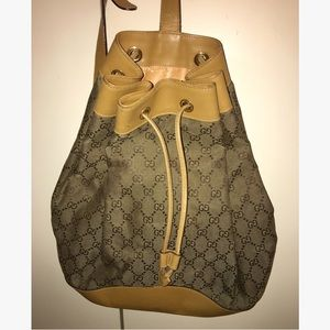 Gucci Handbags - Authentic Gucci GG One Strap Backpack
