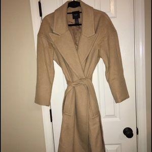 Smythe Oversized Camel Hair Coat (size 6)