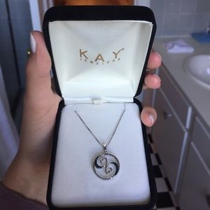 Kay Jewelers Jewelry - BRAND NWT SILVER NECKLACE