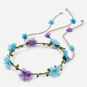 Justice Other - Blue and purple flower crown