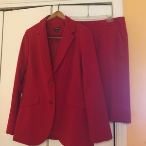 George Other - Red Skirt Suit