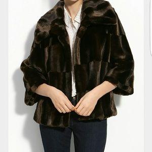 Tahari Woman Jackets & Blazers - Tahari faux fur jacket