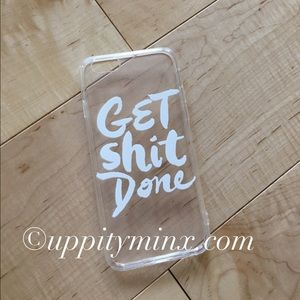 🆕 Get Shit Done iPhone Case