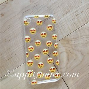 Uppity Minx Accessories - 🆕 Emoji Heart Eyes iPhone Case 😍