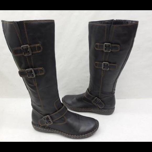 2cdd42ebdb3b Born Shoes - B. O C BORN CROWN BLACK CLEO TALL SHAFT BOOTS 9.5