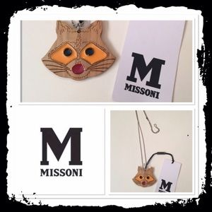 Missoni Jewelry - Missoni raccoon necklace