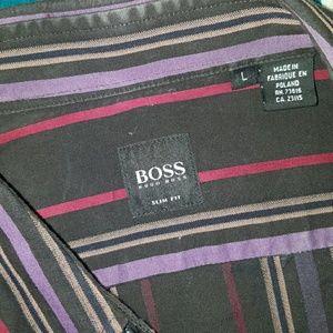 Hugo Boss Other - Hugo Boss Large Slim fit dress shirt button down