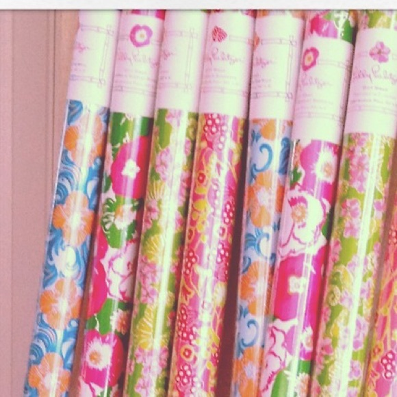 Lilly Pulitzer - Lilly Pulitzer wrapping paper from Lisa's closet ...