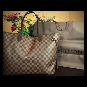 Louis Vuitton Handbags - Authentic Louis Vuitton neverfull GM damier ebene