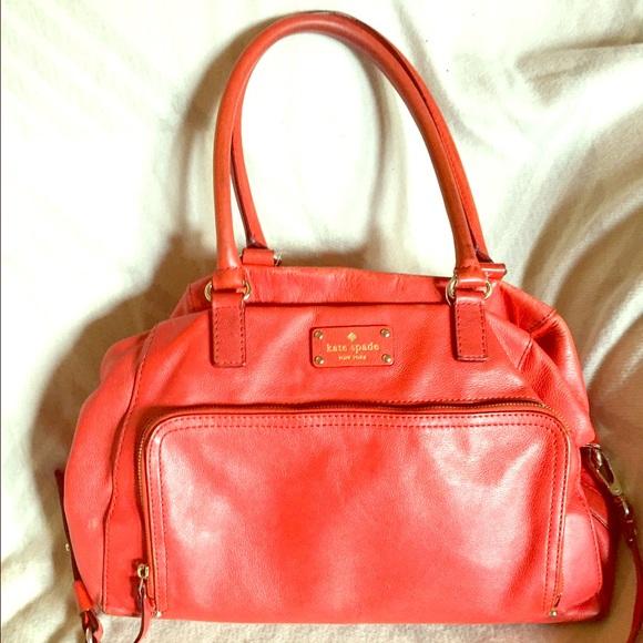 kate spade Bags - Sold!👜KATE SPADE Red Satchel👜