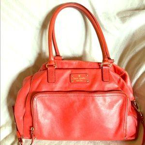 kate spade Handbags - 👜KATE SPADE Red Satchel👜