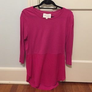 Two by Vince Camuto Tops - Hot pink tee