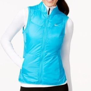 Nike Blue Polyfill Vest