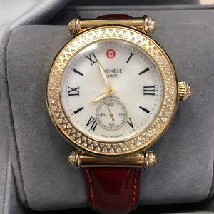 Michele Accessories - 💯 Authentic Michele Caber Diamond Watch