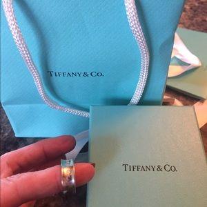 Tiffany & Co. Jewelry - Tiffany and Co 1837 ring, 4.5, BNIB, sterling
