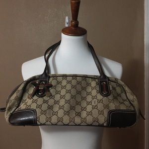 Authentic Gucci Princy Boston Shoulder Bag