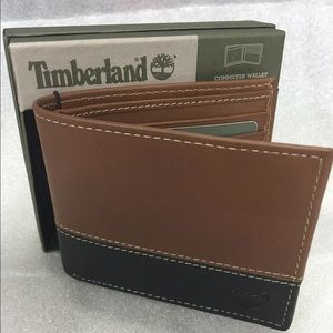 Timberland Other - Timberland Commuter Brown/Black Wallet