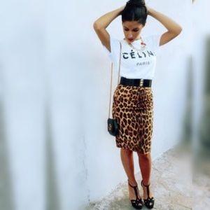 ⭐️HP⭐️AVENUE MONTAIGNE High waisted  Skirt