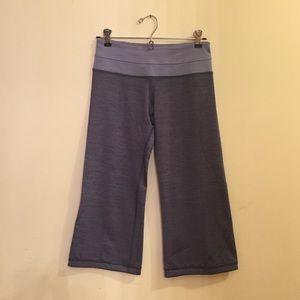 Lululemon Purple Vintage Crop Leggings