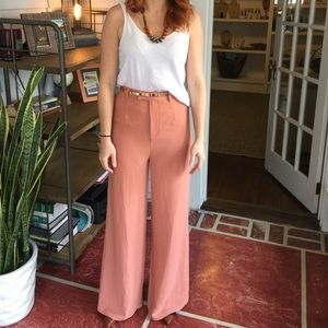 Wide leg pants with tag