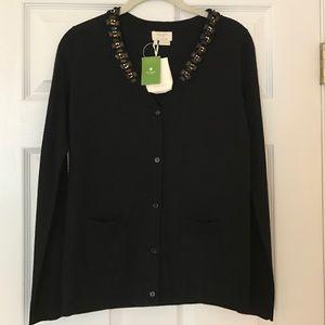 kate spade Sweaters - Kate Spade Black Eryn Cardigan in Size Small