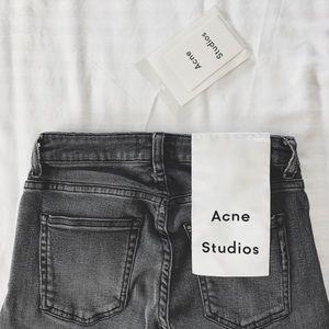 Acne Studios Skin 5 Coal Jeans