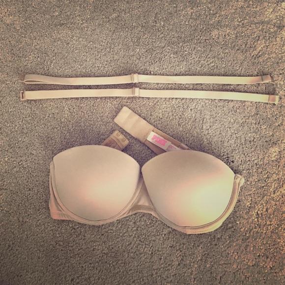 34af894087 VS Pink Nude Strapless Bra  NWOT . M 5879183d56b2d6f83500e13c. Other  Intimates   Sleepwears you may like. Bralette. Bralette.  5  0. Victoria s  Secret ...